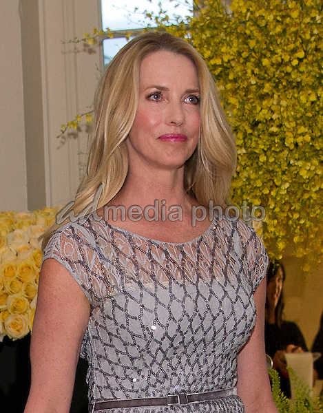 Laurene Powell Jobs, Founder, Emerson Collective arrives for the State Dinner honoring Prime Minister Lee Hsien Loong of the Republic of Singapore at the White House in Washington, DC on Tuesday, August 2, 2016. Photo Credit: Ron Sachs/CNP/AdMedia