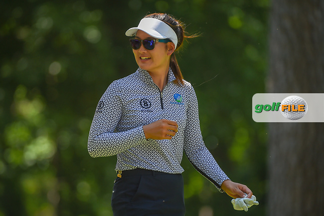 Su Oh (AUS) is all smiles as she heads down 2 during round 3 of the U.S. Women's Open Championship, Shoal Creek Country Club, at Birmingham, Alabama, USA. 6/2/2018.<br /> Picture: Golffile   Ken Murray<br /> <br /> All photo usage must carry mandatory copyright credit (© Golffile   Ken Murray)