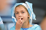 ENG - Leicester, England, October 11: During the halftime during the Pool C rugby match between Argentina (blue/white) and Namibia (blue) on October 11, 2015 at Leicester City Stadium in Leicester, England. Final score 64-19 (HT 36-7). (Photo by Dirk Markgraf / www.265-images.com) *** Local caption ***