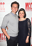Jonathan Groff & Susie Pourfar.attending the 'MISCAST 2012' MCC Theatre's Annual Musical Spectacular at The Hammerstein Ballroom in New York City on 3/26/2012.