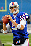 9 December 2007: Buffalo Bills rookie quarterback Trent Edwards warms up prior to starting against the Miami Dolphins at Ralph Wilson Stadium in Orchard Park, NY. The Bills defeated the Dolphins 38-17. ..Mandatory Photo Credit: Ed Wolfstein Photo
