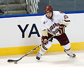 Cam Atkinson (BC - 13) - The Boston College Eagles defeated the Yale University Bulldogs 9-7 in the Northeast Regional final on Sunday, March 28, 2010, at the DCU Center in Worcester, Massachusetts.