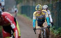 Corne Van Kessel (NLD/Telenet-Fidea)<br /> <br /> Zolder CX UCI World Cup 2014