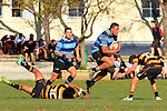 Marlborough Boys' College 1st XV vs Nelson College Press Cup  Rugby match held at MBC Front Field, Blenheim 29th  May 2014. Final Score 17-16 to Nelson college. Photo Gavin Hadfield / Shuttersport