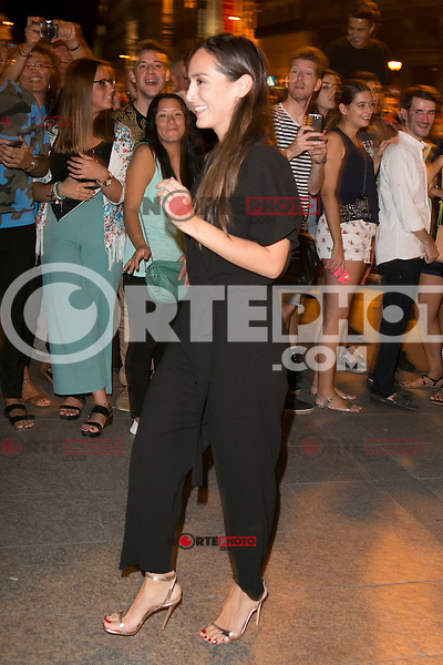 Tamara Falco attends the party of Nike and Roberto Tisci at the Casino in Madrid, Spain. September 15, 2014. (ALTERPHOTOS/Carlos Dafonte) /NortePhoto.com