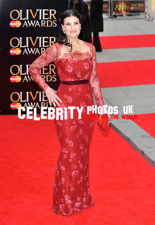 Idina Menzel   at The Laurence Olivier Awards at the Royal Opera House on April 28, 2013 in London Picture By: Brian Jordan / Retna Pictures.. ..-..