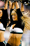 Philadelphia Eagles cheerleaders perform during the NFL game between the Dallas Cowboys and the Philadelphia Eagles on November 8th 2009. The Cowboys won 20-16 at Lincoln Financial Field in Philadelphia, Pennsylvania. (Photo By Brian Garfinkel)