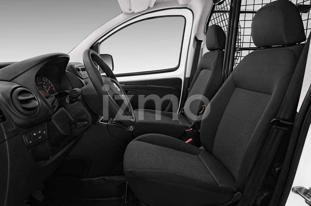 Front seat view of a 2017 Peugeot Bipper Pro 3 Door Car van front seat car photos