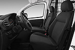 Front seat view of a 2017 Peugeot Bipper Pro 3 Door Car van front seat car photos