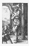 Christ as Man of Sorrows in the column, Albrecht Dürer, 1509