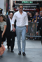 NEW YORK, NY-June 20: Alexander Skarsgard at Good Morning America  to talk about new movie The Legend of Tarzan in New York. NY June 20, 2016. Credit:RW/MediaPunch