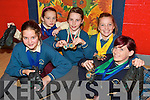 DANCING ON AIR: Dancers from Caherciveen who won 32 medals at the All Scotland Dancing Championships in Scotland last week..L/r. Rebecca Galvin, Casey O'Donoghue, Holly Dennehy, Sara Louise O'Connell and Aoife Murphy.   Copyright Kerry's Eye 2008