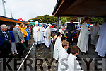 Bishop Ray Browne at the Ballyheigue Pattern day mass on Friday.