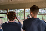 07.01.2019, Lion & Safari Park, Broederstroom, Kalkheuvel, RSA, TL Werder Bremen Johannesburg Tag 05<br /> <br /> im Bild / picture shows <br /> Joshua Sargent (Werder Bremen #19) und Ludwig Augustinsson (Werder Bremen #05) fotografieren mit Handy während Tour im Ausflugsbus, <br /> <br /> Teil der Spieler besucht am 5. Tag des Trainingslager eine geführte Tour im Lion & Safari Park, <br /> <br /> Foto © nordphoto / Ewert