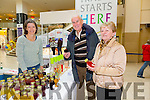 "At the Taste of Tralee Food Fair at Manor West  on Saturday was Jane Brennan of ""Full Circle Cordials""  and with tasters,  Brendan and Monica O'Connor from Tralee."