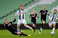 GRONINGEN - Voetbal, FC Groningen - Preussen Munster  oefenwedstrijd , Noordlease stadion, seizoen 2017-2018, 08-11-2017,   FC Groningen speler Tom van Weert