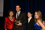 Executive producer of OLTL Frank Valentini receives the Linda Dano Heart Award and poses with Robin Strasser and Eddie and Kristen Alderson at the HeartShare Human Services 2009 Spring Gala and Auction on March 24, 2009 at the New York Marriott Marquis, New York City, NY. (Photos by Sue Coflin/Max Photos)