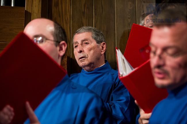 July 20, 2014; Summer Choir. (Photo by Barbara Johnston/University of Notre Dame