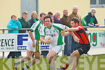 Na Gaeil's Eoin Doody and Fossa's Kenneth Clifford...