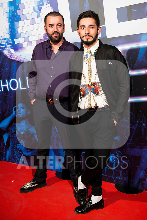 Felix Sabroso and Jau Fornes attends to the premiere of the The Hole Zero Show at Teatro Calderon in Madrid. October 04, 2016. (ALTERPHOTOS/Borja B.Hojas)