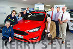 Launching the Golf Classic in aid of Kerry Stars where if you hit a hole in one you can win a Ford Focus 1.5 TDCi from Killarney Autos which will be held in Beaufort Golf Club on June 24th l-r: Joan O'Connor Chairperson, Teresa O'Brien Martina McCarthy, Vincent Lacke, Mary Murphy, Pat Delaney, Kevin Donnell, Tony Fleming and Dermot Moriarty