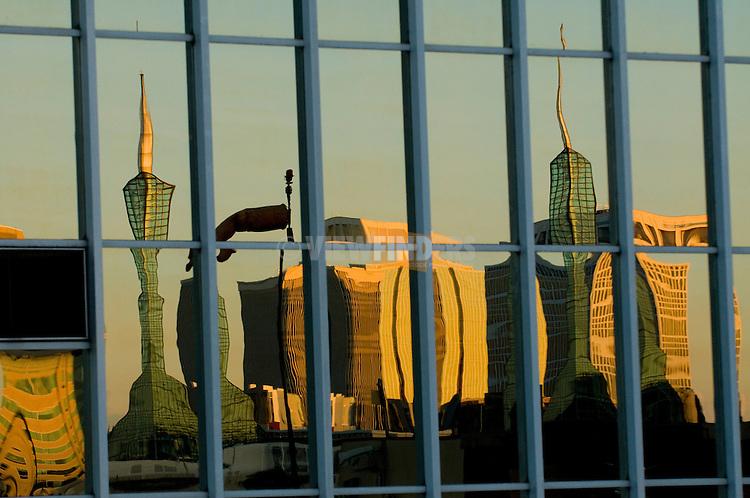 Reflection of Oregon Convention Center, Portland, Oregon