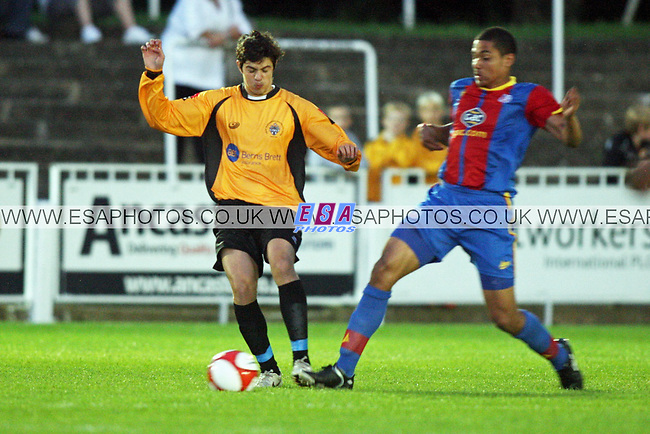 CRAY WANDERERS v CRYSTAL PALACE<br /> PRE SEASON FRIENDLY<br /> WEDNESDAY 1ST AUGUST 2012