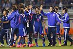 (L-R) Saori Ariyoshi, Homare Sawa (JPN), MAY 28, 2015 - Football / Soccer : KIRIN Challenge Cup 2015 match between Japan 1-0 Italy at Minaminagano Sports Park, <br /> Nagano, Japan. (Photo by Yusuke Nakansihi/AFLO SPORT)