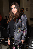 Lisa Snowdon at the Pam Hogg show during London Fashion Week AW18, at the Freemasons' Hall in London, UK. <br /> 16 February  2018<br /> Picture: Steve Vas/Featureflash/SilverHub 0208 004 5359 sales@silverhubmedia.com