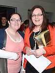 Carol Corbally and Clare Farrelly pictured at The Cube in Ardee Parish Centre. Photo:Colin Bell/pressphotos.ie