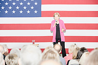 Democratic presidential candidate and Massachusetts senator Elizabeth Warren speaks at a Town Hall event in the Granite State Room in the Memorial Union Building at the University of New Hampshire in Durham, New Hampshire, on Wed., October 30, 2019. Per the campaign, approximately 625 people attended the event, which was part of Warren's 20th trip to the state since Jan. 2019.
