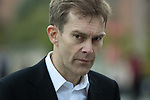© Joel Goodman - 07973 332324 . 25/09/2016 . Liverpool , UK . SEUMAS MILNE outside the ACC conference centre in Liverpool , at the end of the first day of the Labour Party Conference . Photo credit : Joel Goodman