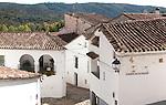 Historic buildings in Fuenteheridos village, Sierra de Aracena, Huelva province, Spain