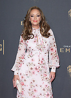 LOS ANGELES, CA - SEPTEMBER 09: Leah Remini at the 2017 Creative Arts Emmy Awards at Microsoft Theater on September 9, 2017 in Los Angeles, California. C