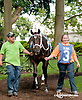 Pass You Bye Bye before The Hockessin Stakes at Delaware Park on 7/4/13