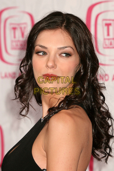 ADRIANNE CURRY.5th Annual TV Land Awards at Barker Hangar, Santa Monica, California, USA, 14 April 2007..portrait headshot red lipstick over shoulder.CAP/ADM/BP.©Byron Purvis/AdMedia/Capital Pictures.