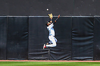 Wisconsin Timber Rattlers outfielder Carlos Belonis (2) during a Midwest League game against the Burlington Bees on July 10, 2017 at Fox Cities Stadium in Appleton, Wisconsin.  Burlington defeated Wisconsin 6-3. (Brad Krause/Krause Sports Photography)