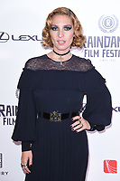 "Josephine De La Baume<br /> arriving for the World premiere of ""Bees Make Honey"" at the Vue West End, Leicester Square, London<br /> <br /> <br /> ©Ash Knotek  D3314  23/09/2017"