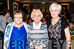 Anna Douglas, Patsy Griffin and Ena Healy pictured at the John Mitchel's Strictly Come Dancing at the Ballygarry House Hotel on Sunday night.