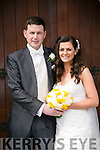 Sinead McCrohan, Ardfert, daughter of Sean and Jackie McCrohan, and Stephen Power, Ardfert, son of Stephen and Siobhan Power, were married at Ardfert Church by Fr. Thadhg on Saturday 16th April 2016 with a reception at Ballyroe Heights Hotel