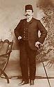 Syria 1915.Damascus, january: Salih Bedir <br /> Khan, father of Rouchan Bedir Khan.<br /> Syrie 1915.A Damas en Janvier, Salih Bedir Khan, pere de Rouchan Bedir Khan