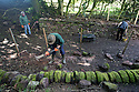 "24/05/16 <br /> <br /> Andrew Brown-Jackson and his team painstakingly restore the wall.<br /> <br /> A mammouth restoration project, that could take up to twenty years to complete, is underway on the forgotten ancient stone walls that were once part of an intriguing track way, which pre-dates the railways.<br /> <br /> FULL STORY HERE:  http://www.fstoppress.com/articles/forgotten-stone-walls-set-for-restoration/<br /> <br /> .Imagine a giant 3D jigsaw puzzle with no instructions, and you have an idea of the challenge facing  these traditional dry-stone wallers, who are hard at work restoring the Cauldon Plateway, a relic of Staffordshire's industrial history.<br /> <br /> It's back-breaking work, as each stone has to be returned as close as possible to its original position according to weight and size, with bigger, heavier stones towards the bottom and a rounded ""coping"" stone at the very top.<br /> <br /> All Rights Reserved: F Stop Press Ltd. +44(0)1335 418365   +44 (0)7765 242650 www.fstoppress.com"