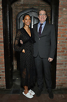 """NEW YORK - MARCH 19: (L-R) Stefani Robinson, Co-Executive Producer and writer and Paul Simms, Executive Proper and writer attend the party at the Bowery Hotel Terrace following the premiere for FX Networks """"What We Do In The Shadows"""" on March 19, 2019 in New York City. (Photo by Anthony Behar/FX/PictureGroup)"""