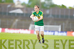 Darran O'Sullivan, Kerry in action against \t0\ in the first round of the Munster Football Championship at Fitzgerald Stadium on Sunday.