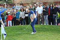 Nacho Elvira (ESP) on the 10th during Round 3 of the Open de Espana 2018 at Centro Nacional de Golf on Saturday 14th April 2018.<br /> Picture:  Thos Caffrey / www.golffile.ie<br /> <br /> All photo usage must carry mandatory copyright credit (&copy; Golffile | Thos Caffrey)