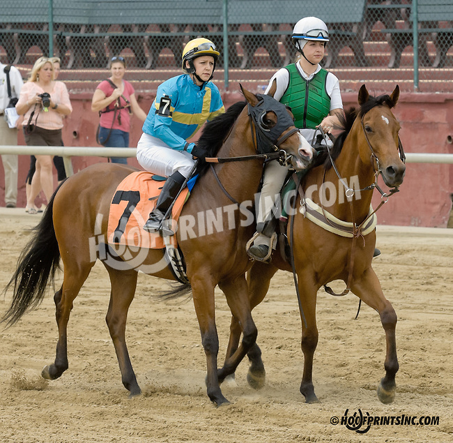 Ranson Paid with Josephine Kelly before The International Ladies Fegentri  at Delaware Park racetrack on 6/9/14