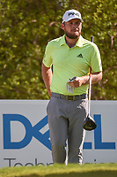 Tyrrell Hatton (ENG) looks over his tee shot on 12 during day 1 of the WGC Dell Match Play, at the Austin Country Club, Austin, Texas, USA. 3/27/2019.<br /> Picture: Golffile | Ken Murray<br /> <br /> <br /> All photo usage must carry mandatory copyright credit (© Golffile | Ken Murray)