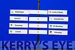 The first round draw of the Garvey Supervalu Senior Co Hurling Championship