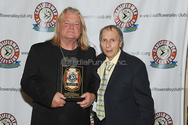 LAS VEGAS, NV - MAY 02: Greg Valentine and George Napolitano at the 2018 Cauliflower Alley Club Awards Banquet And Dinner at the Gold Coast Hotel & Casino in Las Vegas, Nevada on May 2, 2018. Credit: George Napolitano/MediaPunch