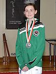 Cydney Sheridan silver medal winner. Photo:Colin Bell/pressphotos.ie